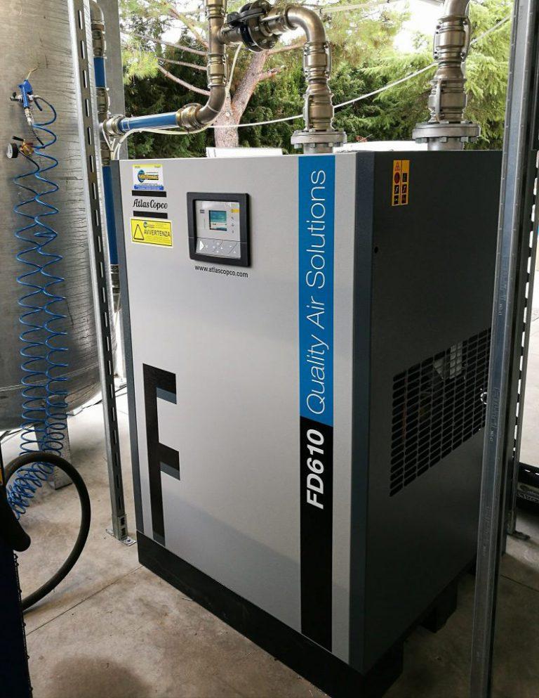 Essiccazione e filtrazione aria compressa