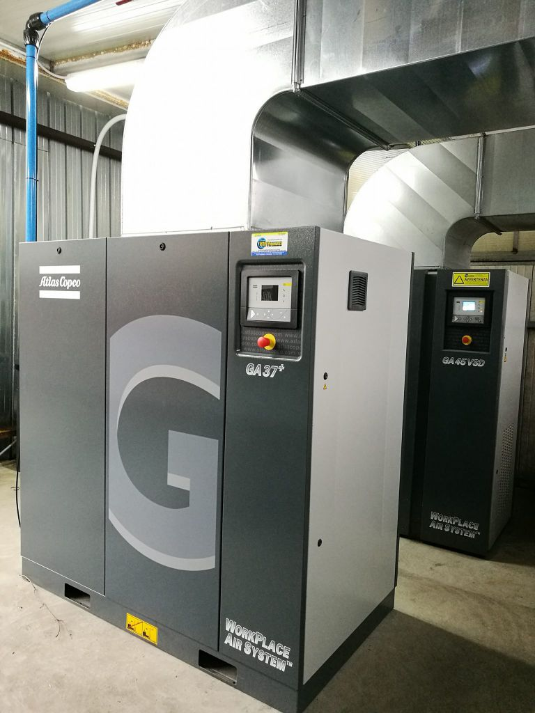 Sala a risparmio energetico con centralina 4.0 integrata